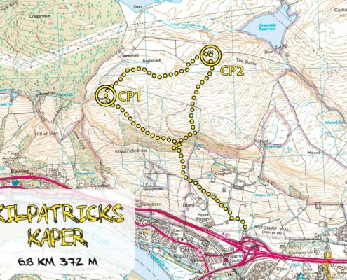 Kilpatricks Kaper Map