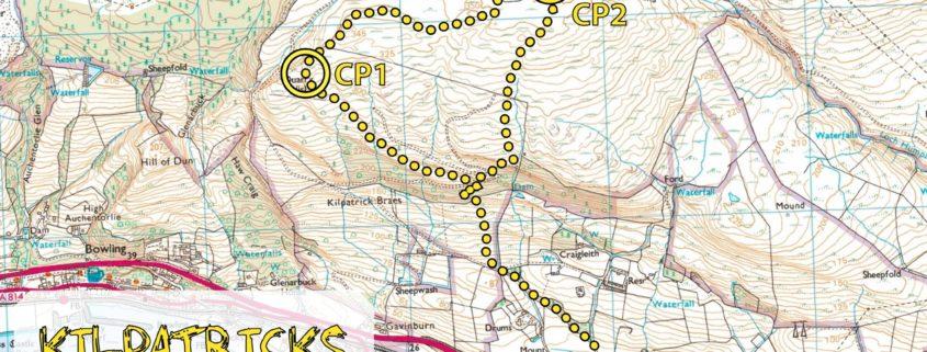Kilpatricks Kaper Map